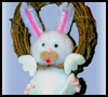Hang   in There, Pompom Easter Bunny!