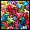 Colorful   Popcorn  : Popcorn Crafts Ideas for Kids
