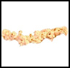 Popcorn   Garland  : Crafts to Make with Popcorn