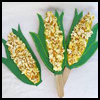 Corn   Collage  : Popcorn Crafts Ideas for Kids
