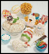 Popcorn Egg Decor  : Crafts to Make with Popcorn