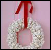Popcorn   Wreath  : Arts and Crafts Projects with Popcorn