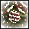 Cranberry-popcorn Garland  : Popcorn Crafts Ideas for Kids