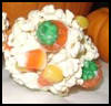 Halloween   Candy Popcorn Balls  : Popcorn Crafts Ideas for Kids