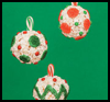 Popcorn   Ball Ornaments  : Crafts to Make with Popcorn