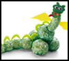 Popcorn   Dragon  : Crafts to Make with Popcorn