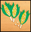 Counting   on Corn  : Popcorn Crafts Ideas for Kids