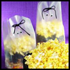 Ghoulish   Ghost Mix  : Popcorn Crafts Ideas for Kids