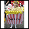 Popcorn   Box Costume  : Crafts to Make with Popcorn