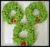 Christmas   Popcorn Wreath  : Popcorn Crafts Ideas for Kids