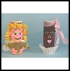 Valentine   Goodie Cans    : Potato Chip Cans Activities for Children
