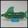 Recycled Water Bottle Fish Craft for Kids