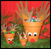 Reindeer    Craft Treat Holders