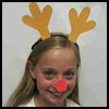 Antlers Rheindeer Craft for Kids