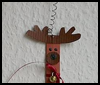 Craft    Stick Reindeer    : Christmas Reindeer Crafts Activities for Kids