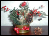 Christmas Ribbons Arrangement Arts & Crafts Project for Kids