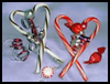 Candy Cane Ribbons Heart Valentine's Day Craft for Kids