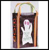 Decorative Halloween Ribbons Tote Bag Crafts Activity for Kids