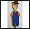 Scarecrow   Puppet    : Scarecrow Crafts Projects