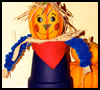 Happy Claypot Scarecrow