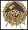 Straw   Hat Scarecrow  : Scarecrow Crafts Ideas for Kids