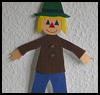 Paper   Scarecrow Decoration    : Scarecrow Crafts Projects