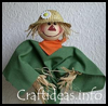 Scarecrow   Plant Poke    : Scarecrow Crafts Projects
