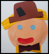 Paper   Plate Scarecrow    : Scarecrow Crafts Projects