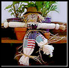 Dishtowel   Scarecrow     : Scarecrow Crafts Activities
