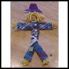 Wee   Scarecrow  : Scarecrow Crafts Ideas for Kids