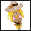 Paper   Bag Scarecrow   : Scarecrow Crafts Activities for Children