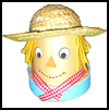Flowerpot   Scarecrow   : Scarecrow Crafts Activities for Children