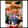 Clay   Pot Scarecrow    : Scarecrow Crafts Projects