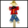Paint   Stick Scarecrow    : Scarecrow Crafts Projects