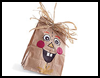 Scarecrow   Treat Bag  : Scarecrow Crafts Ideas for Kids