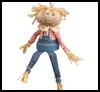 Flower   Pot Scarecrow   : Scarecrow Crafts Activities for Children