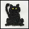 Tissue    Paper Black Cat     :  Black Cats Crafts Projects