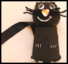 Paper    Cup Cat   : Scary Black Cats Crafts Ideas for Children