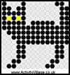 Black    Cat Fuse Bead Pattern