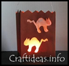Black    Cats Lantern  : Halloween Black Cat Crafts for Kids