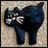 Salt    Dough Cat    : Scary Black Cats Crafts Activities