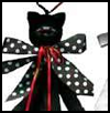 Black    Cat Streamer  : Halloween Black Cat Crafts for Kids