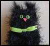 Pompom    Cat    : Scary Black Cats Crafts Activities