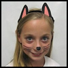 Black            Cat Ears  : Halloween Black Cat Crafts for Kids