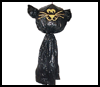 Garbage    Bag Cat   : Scary Black Cats Crafts for Children