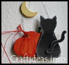 Black    Cat  : Halloween Black Cat Crafts for Kids