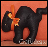 Cat    Doll  : Halloween Black Cat Crafts for Kids