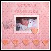 Mommy's Valentine Scrapbook Page : How to Make a Scrapbook Directions for Kids