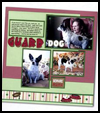 A Dog's Life Scrapbook Page : Scrapbooking Crafts Ideas for Kids-