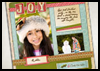 Winter Holiday Scrapbook : Fun Scrapbooking Inspiration and Ideas